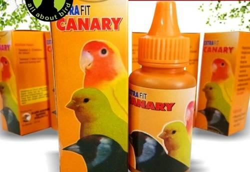 vitamin dan suplemen burung kenari