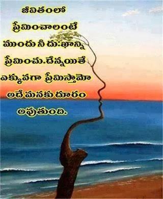 Telugu Useful Quotes: LOVE YOURSELF