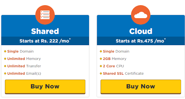 shared and cloud wordpress hosting hostgator
