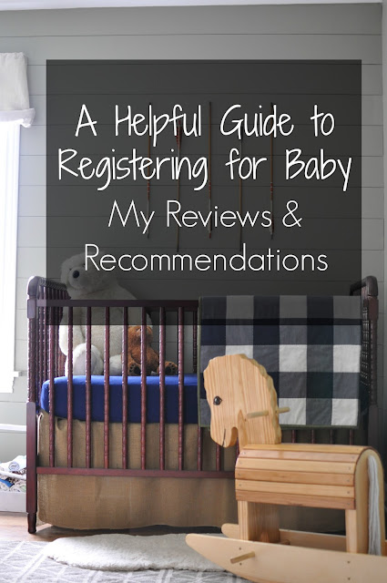 Registering For Baby- My Reviews and Recommendations