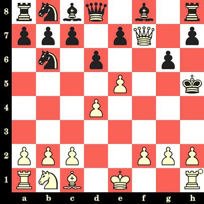 Les Blancs jouent et matent en 4 coups - Noordijk vs Salo Landau, Rotterdam, 1927