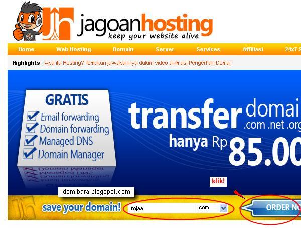 Cara Hosting Website Untuk Toko Online - ORDER NOW