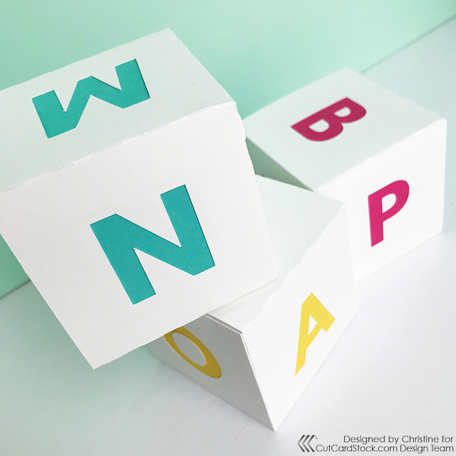 Learning with Colorblock Alphabet Blocks