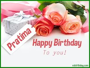 Happy Birthday Pratima