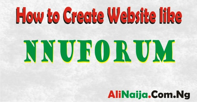 How to Create Website like NNU Forum 2019