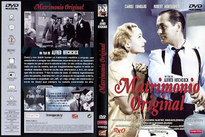 Carátula dvd: Matrimonio original (1941) Mr. and Mrs. Smith