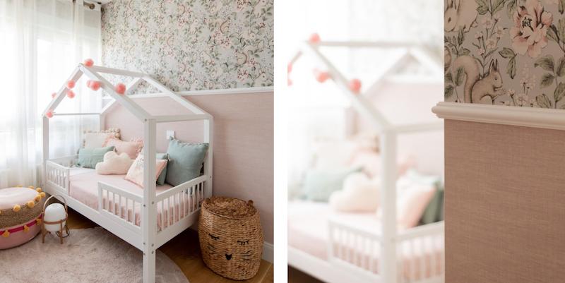 Dormitorio infantil de estilo clásico