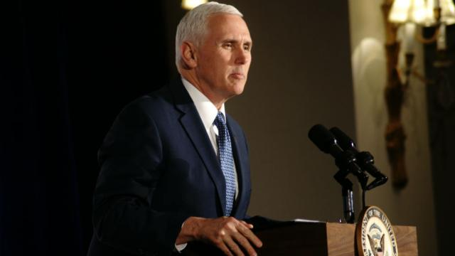 Pence announces $16M in aid for refugees fleeing Venezuela