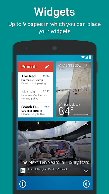 Smart Launcher 5 v5.4 build 002 Pro APK