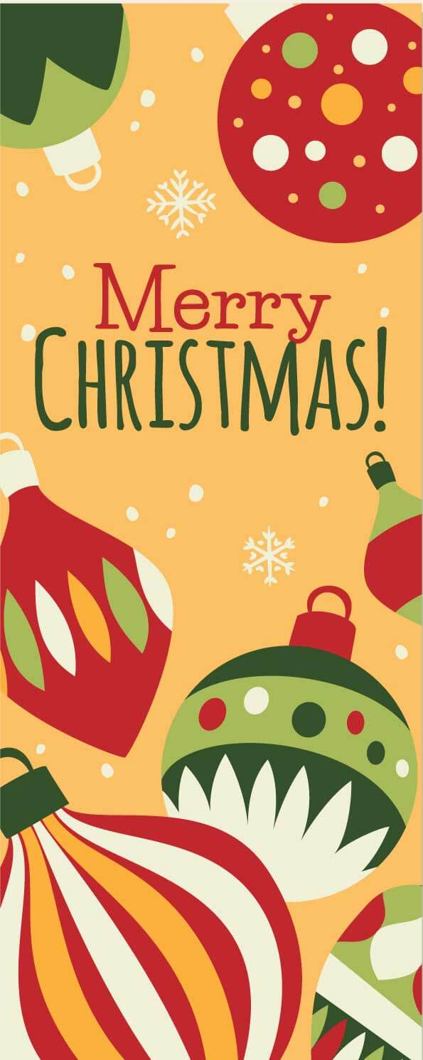 Christmas Banner Template Download Free