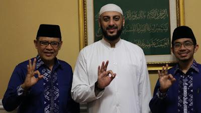Syekh Ali Jaber Dukung Makmur Ahda