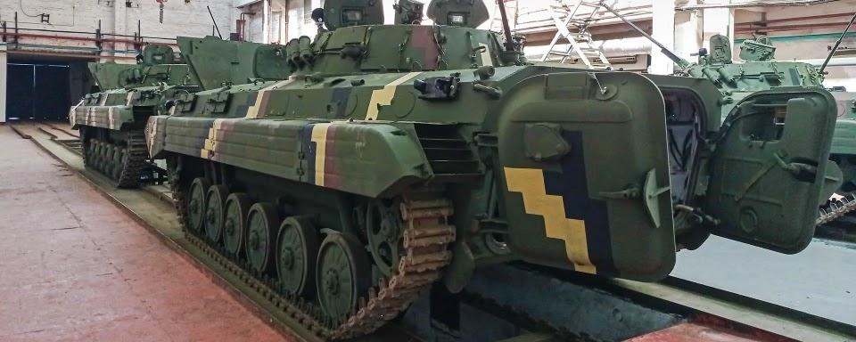 ЖБТЗ передав ЗСУ п'ять відремонтованих БМП-2