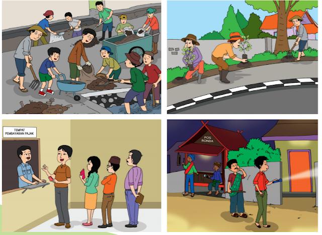 Jawaban Tema 6 Subtema 1 Kelas 6 Halaman 3 Dan 5 : Buku Tematik Pembelajaran 1