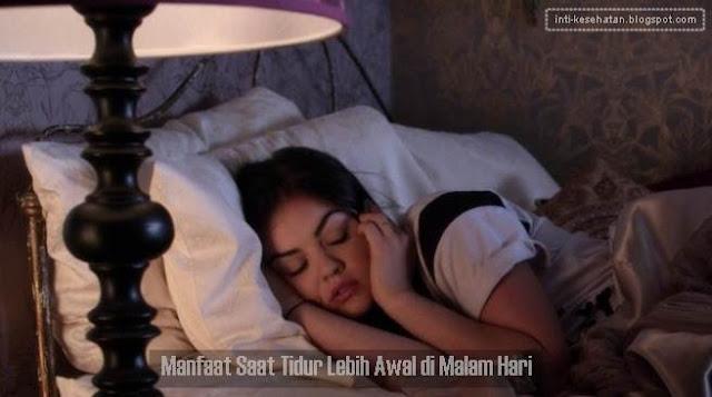 Manfaat Saat Tidur Lebih Awal di Malam Hari