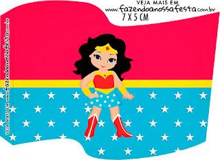 Cumpleaños de la Mujer Maravilla: Imprimibles Gratis para Fiestas.
