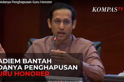 Mendikbud Menegaskan Tak Ada Penghapusan Guru Honorer Di Indonesia