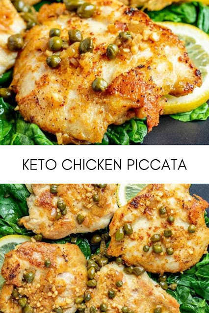 KETO CHICKEN PICCATA