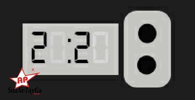 Cách chỉnh đồng hồ trên xe máy Piaggio Vespa