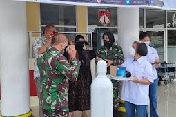 LPEI Salurkan Tabung Oksigen untuk Rumah Sakit DKT dr. SOETARTO Yogyakarta