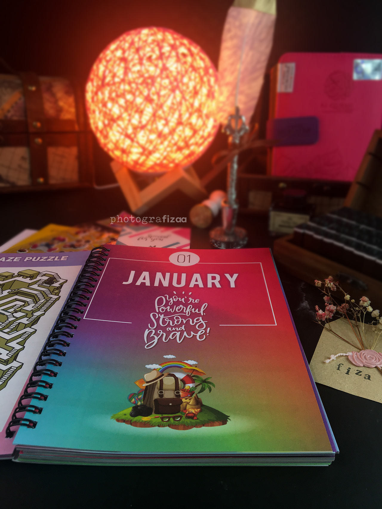 Buku Planner 2021-192 COLOURFUL pages