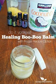 DIY Healing Boo Boo Balm