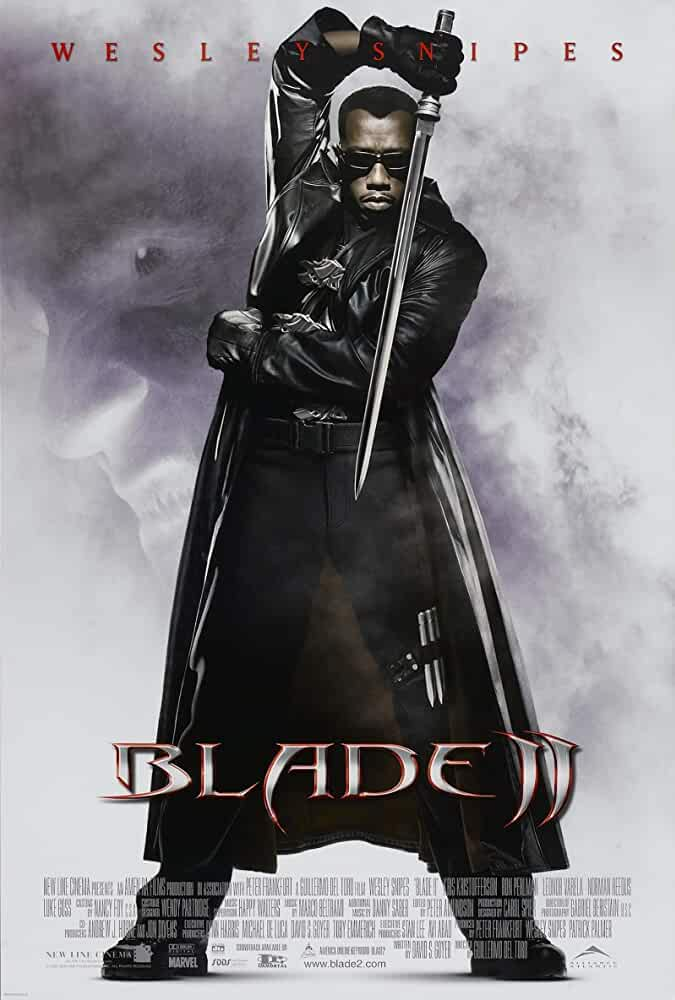 Blade 2 2002 720p 950MB BRRip