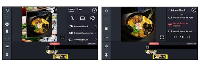 cara bikin slide foto untuk instastory dengan aplikasi kinemaster
