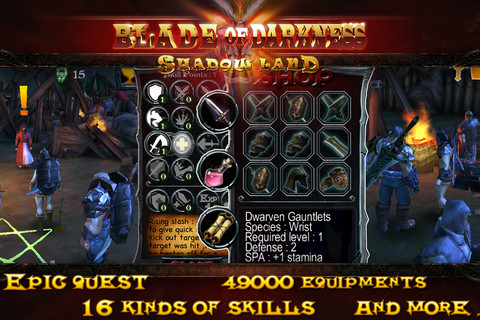 Blade of Darkness v1.0 Mod (Unlimited Purchase) Apk Game Download