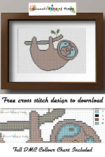 Odd Oddments! Free Sloth Cross Stitch Pattern. Cute Hanging Sloth, sloth cross stitch pattern, hanging sloth cross stitch pattern, cute sloth cross stitch, easy cross stitch, free sloth stitch pattern, funny sloth stitch pattern, free hanging sloth cross stitch, cute sloth cross stitch pattern, happy modern cross stitch pattern, cross stitch funny, subversive cross stitch, cross stitch home, cross stitch design, diy cross stitch, adult cross stitch, cross stitch patterns, cross stitch funny subversive, modern cross stitch, cross stitch art, inappropriate cross stitch, modern cross stitch, cross stitch, free cross stitch, free cross stitch design, free cross stitch designs to download, free cross stitch patterns to download, downloadable free cross stitch patterns, darmowy wzór haftu krzyżykowego, フリークロスステッチパターン, grátis padrão de ponto cruz, gratuito design de ponto de cruz, motif de point de croix gratuit, gratis kruissteek patroon, gratis borduurpatronen kruissteek downloaden, вышивка крестом