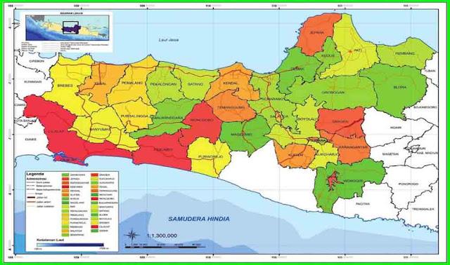 peta provinsi jawa tengah halaman 21