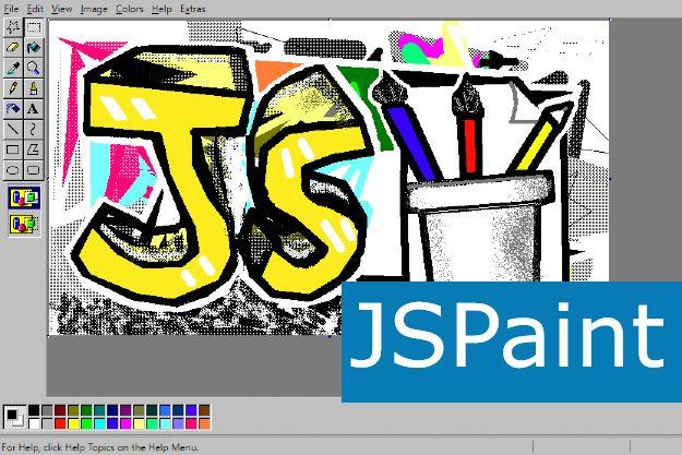 JSPaint - Το κλασικό Paint της Microsoft με νέες λειτουργίες