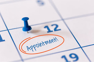 Appointments on 16th April 2021