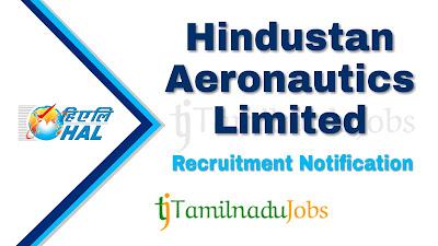 HAL Recruitment notification 2021, govt jobs for engineers, govt jobs in india, central govt jobs