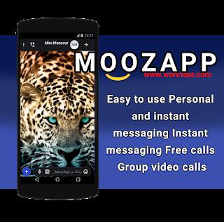 MoozApp free calls, video calls