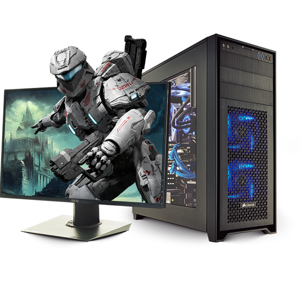 PC Gaming, Desktop Gaming, Complete Work Station (www.ShopGames365.com)