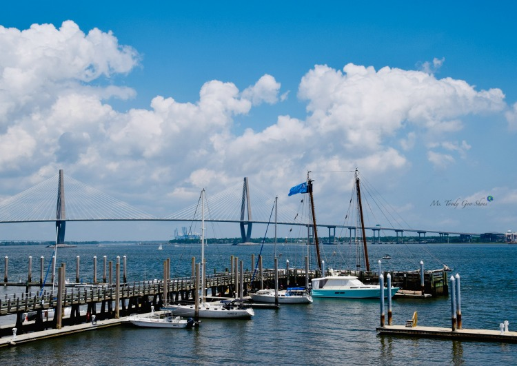 10 Things To Do In Charleston: #3 - Take a harbor cruise | Ms. Toody Goo Shoes #Charleston
