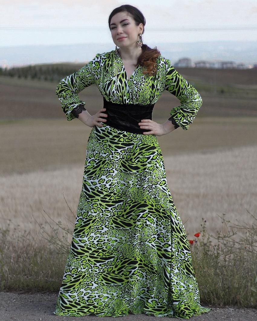 ABİYE ELBİSE NASIL DİKİLİR?-Gece Elbisesi Dikimi-DIY Prom Dress No basic pattern use-making cocktail dress-prom dress-prom dress tutorial-how to make prom dress