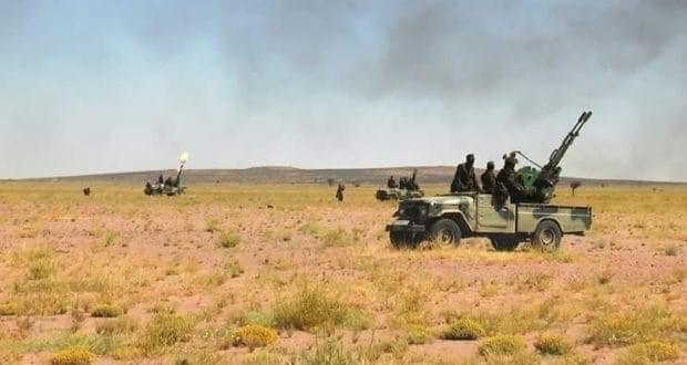 🔴 البلاغ العسكري رقم 69: وحدات الجيش الصحراوي تواصل قصفها لتمركزات الإحتلال المغربي خلف جدار العار.