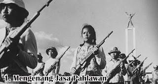 Mengenang Jasa Pahlawan merupakan salah satu manfaat ikut serta memperingati hari kemerdekaan