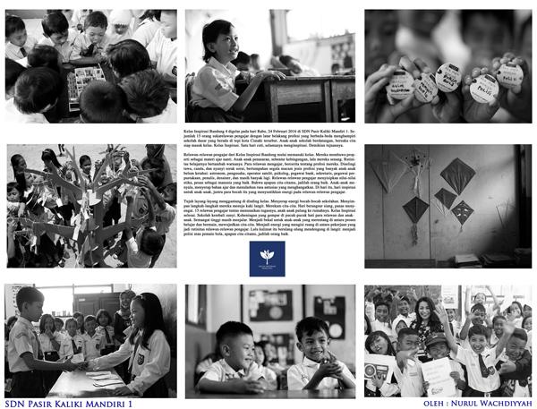Photo Essay Kelas Inspirasi Bandung 4 Meraih Mimpi Menggapai Asa