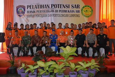 Tingkatkan Kompetensi, Basarnas Lampung Gelar Pelatihan Potensi SAR