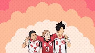 ハイキュー!! OVA ボールの道  | 音駒高校 3年生 黒尾鉄朗 夜久衛輔 海信行 | HAIKYU!! NEKOMA HIGH | Hello Anime !