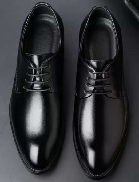 Men high Class Shoes Business Shoes Oxfords Leather Shoes