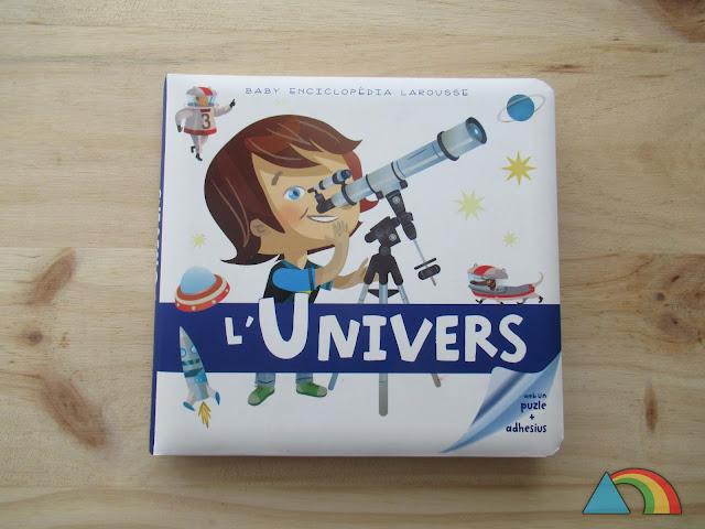 Portada del libro Baby enciclopedia Larousse: El Universo