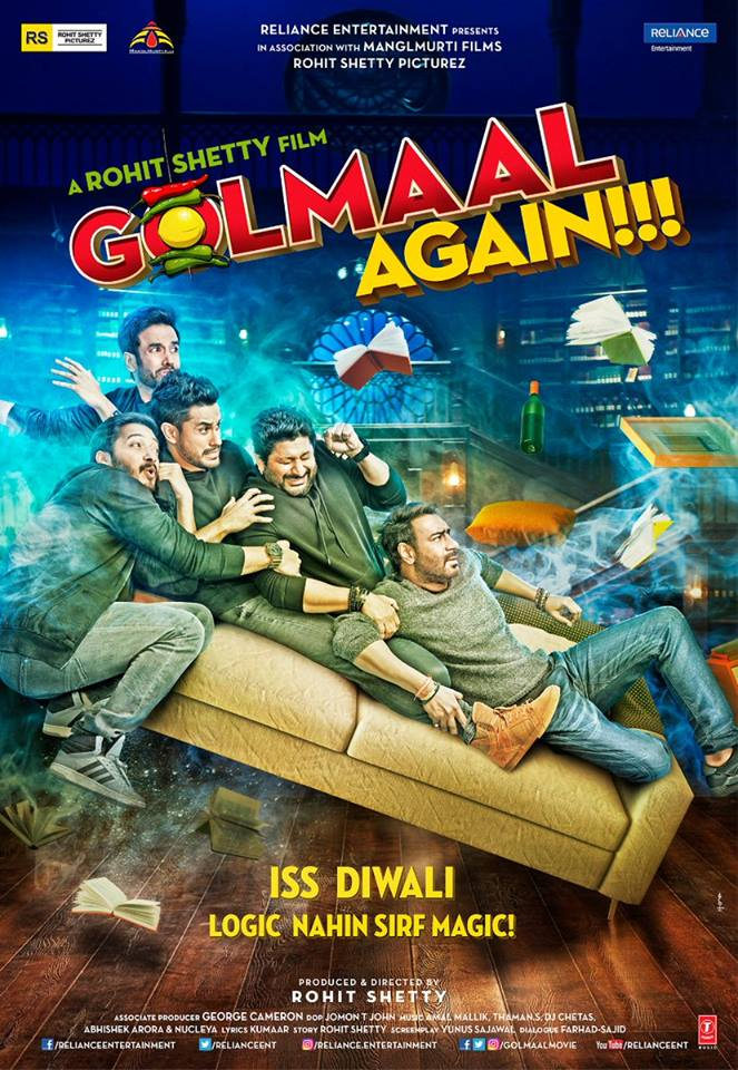 Golmaal Again (2017) Download In 300MB