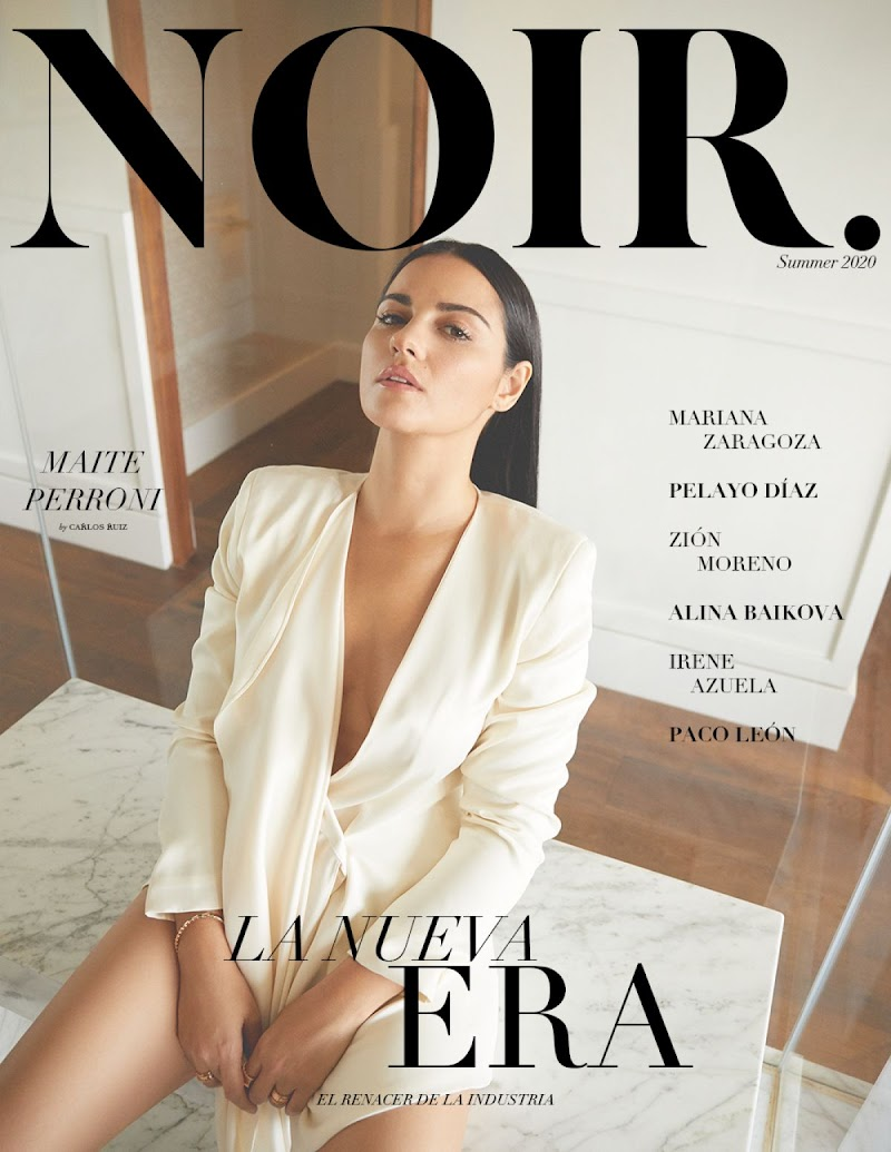 Maite Perroni featured In  Noir Magazine - July 2020 Issue