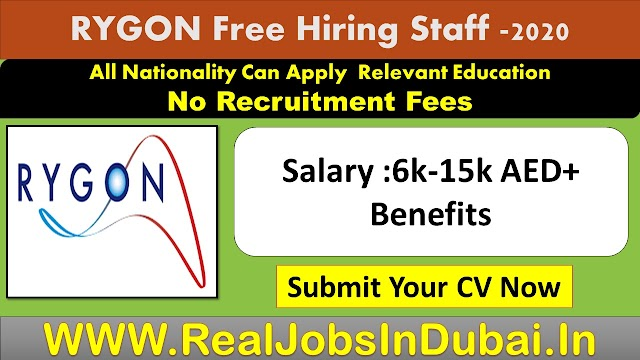 Jobs In Saudi Arabia & UAE  By RYGON -2020