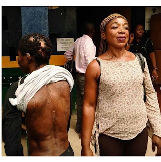 Lady Arrested For Brutalizing Her House Help (Photo)