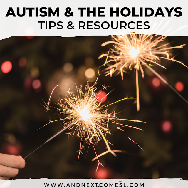 Autism and the holidays: tips and resources for Halloween, Christmas, and New Year's Eve