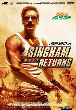Singham Returns 2014 Hindi Movie BluRay 480p, 720p, 1080p
